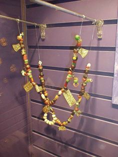 Necklace at the Historisk museum in Oslo. Photo: E McGuire