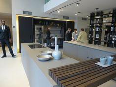MODULNOVA Milan 2014 #Oak #Ceramic #Kitchen #Shelving #Gaggenau