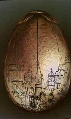 Art of harry potter. The golden egg from goblet of fire.