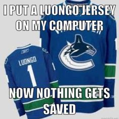 Roberto Luongo Jokes   |   Stuff I'll Miss About the Vancouver Canucks [Media Proclaimed] Goalie Controversy