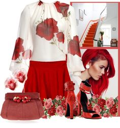 """""""rose top contest"""" by bodangela on Polyvore"""