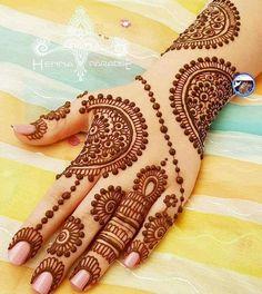 Bridal Mehndi Designs, Hand Henna, Hand Tattoos, Indiana, Frocks, Arm Tattoos