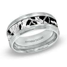 Menu0027s Titanium Realtree® AP Snow Camo Wedding Ring | Snow Camo Wedding, Camo  Wedding Rings And Camo Wedding