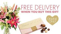 Gift ideas for mom!! #wwheartofgold #mothersday #giftideas #chocolates #flowers #freedelivery #Woolworths #Woolworths_SA