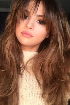 Selena Gomez has chopped in a new fringe and we love it. See the pictures on GLAMOUR.com (UK)
