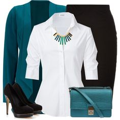 """Turquoise Bag"" by moosegodstiel on Polyvore"