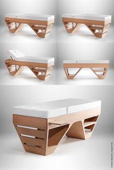 Sanya Spa bed © Matteo Blaschich - Studio Pi Tre