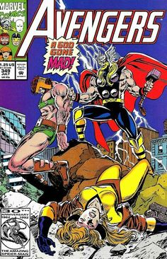 Cover for The Avengers (Marvel, 1963 series) #349 [Direct Edition]