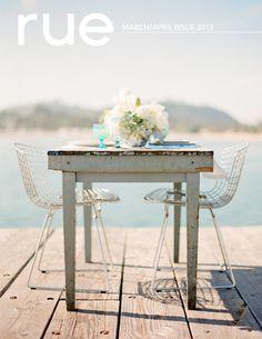 Rue magazine march-april/2012 #decor #interior #design #free