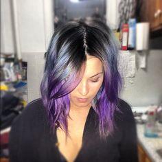Some purple.