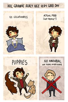 biggest plot twist of hannibal: the series finale is just will having a good day