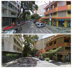 SHARED STREETS - Streets where pedestrians and cars share the same space | Belo Horizonte, Brazil