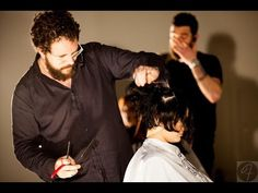 How to Hold a Straight Edge Razor for Haircutting with Gerard Scarpaci Added to Hairbrained by adam federico
