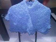 Crescent moon acabado. Da para dos vueltas Lace Shorts, Women, Fashion, Shawl, Trapillo, Hand Made, Tejidos, Patterns, Blue Prints