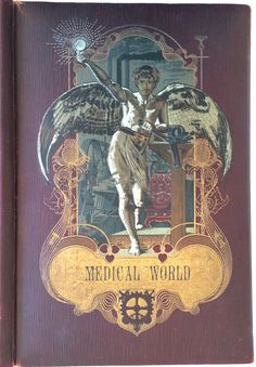 THE Medical World Elaborate Gilt Embossed ART Nouveau Journal Cover C1890 039 S | eBay