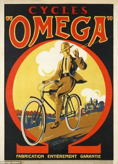 Vintage Advertising Posters | Omega cycles