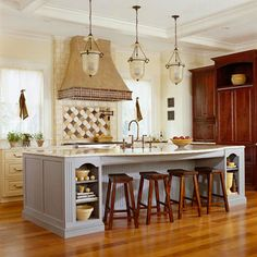 These are gorgeous kitchen lights!