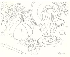 matisse still life drawing