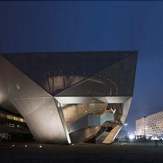German Pavilion by Schmidhuber + Kaindl - Dezeen
