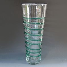 $31 (10 BIDS) Modern Blenko Art Glass Vase ebth