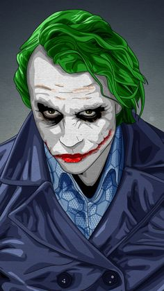 Joker, notorious, villain, artwork, dc comics, 720x1280 wallpaper