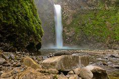 Tappiya Falls, Batad, Banaue, Ifugao Province  Digital Postcards of the Philippines Please visit my blog www.tuklaserangmatipid.com Banaue, Rice Terraces, Philippines, Postcards, Waterfall, About Me Blog, Digital, Amazing, Outdoor