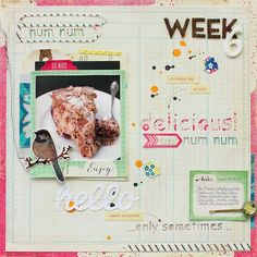 #projectlife week 6 (right side) - by Janna Werner