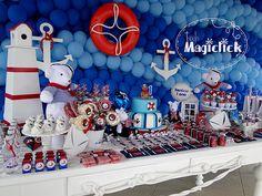 festa personalizada marinheiro - Google Search