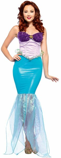 Disney Princess Fancy Dress - Ariel from The Little Mermaid (Emma L)