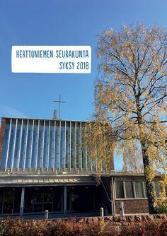 Herttoniemen seurakunnan syysesite 2018. Graphic Design, Visual Communication