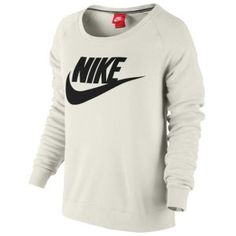 Nike Rally Crew - Women's - Charcoal Heather/Sail