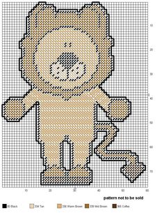 Wizard of Oz Cowardly Lion Free Easy Plastic Canvas Pattern Plastic Canvas Ornaments, Plastic Canvas Crafts, Plastic Canvas Patterns, Needlepoint Patterns, Cross Stitch Patterns, Lego Mosaic, Canvas Designs, Diy Canvas, Embroidery Art