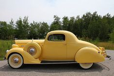 1937 Packard 120 Coupe.