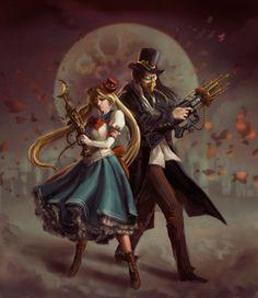 Sailor Moon meets Steam Punk