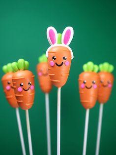 Bunny Carrot Cake Pops | Bakerella | Flickr