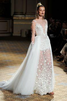 NY Bridal Week: O desfile de Berta Bridal Primavera 2018
