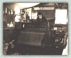 Edmund Cartwright was a cleric and the inventor of the power loom patented in 1785.  This really helped America's cloth production