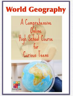 World Geography Online High School Course - Education Possible One of the most important courses high