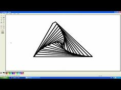 How to draw optical illusions - YouTube