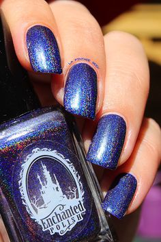 Dark Fantasy from Enchanted Polish   Swatch  By Une pintade chez les geek