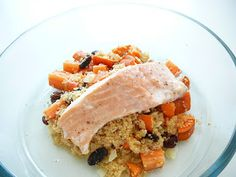 Delicious blog: Losos s kuskusovým pilafem