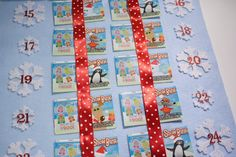 Lottery ticket Advent calendar