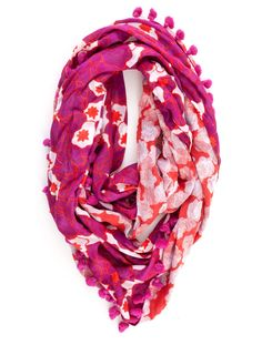Circle Scarf by Diane Von Furstenberg | Scarves & Gloves - ACCESSORIES | Scoop NYC