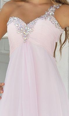 Pink Dress, beaded part would be nice for my party/reception dress