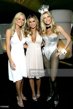 Playmate Katie Lohmann, Carmen Electra and Playmate 2001 Playmate of the Year Brande Roderick *EXCLUSIVE COVERAGE*