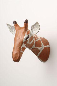 Savannah Story Bust, Giraffe - anthropologie.com