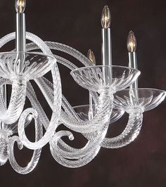 Fine crystal chandeliers and Czek crystal chandeliers. Crystal chandeliers can do a great deal to help create the overall look Antique Chandelier, Glass Chandelier, Chandelier Lighting, Venetian Glass, Murano Glass, Tent Lighting, Crystal Chandeliers, Traditional Lighting, Empire Style