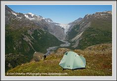 Backcountry camp all through Alaska