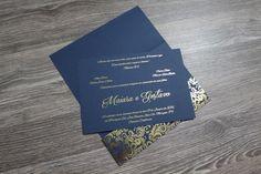 Convite de Casamento - Hot stamping   Glamour Convites   Elo7