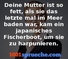 Deine Mutter Witze - Mehr Witze gibt's auf 1001sprueche.com 😊 Funny Pics, Funny Pictures, Sayings, Memes, Quotes, Humorous Sayings, Chuck Norris Facts, Men Jokes, Lmfao Funny